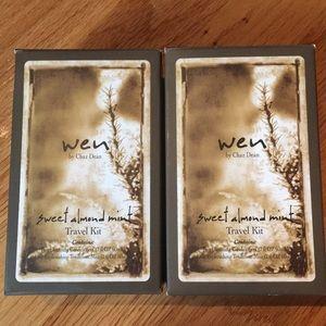 Other - Wen Travel Kit in Sweet Almond Mint x2